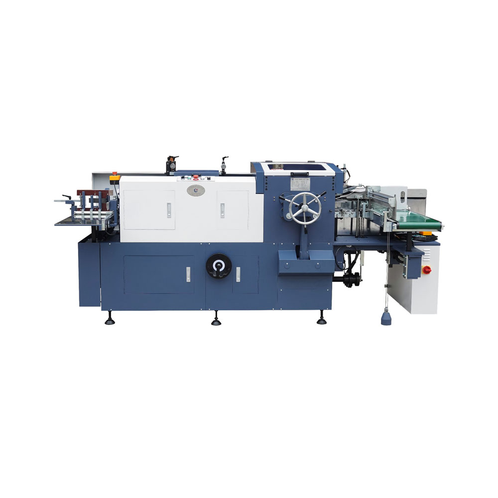 ZK320 Book cover folding Machine/flapping machine